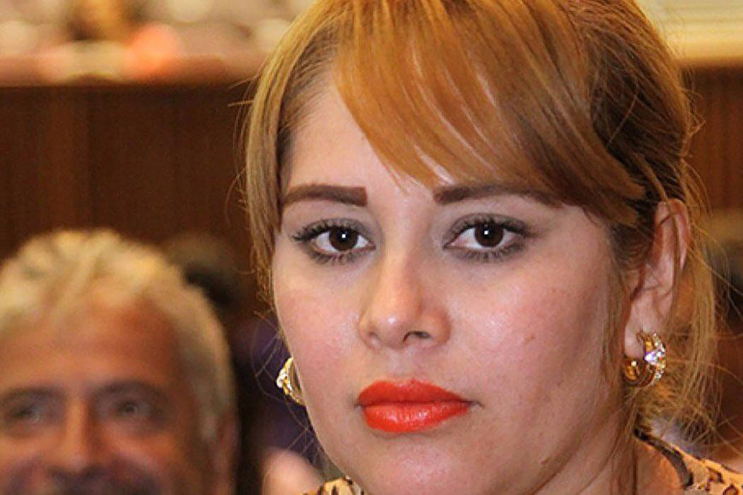 Exdiputada estatal mexicana Lucero Guadalupe Sánchez López.