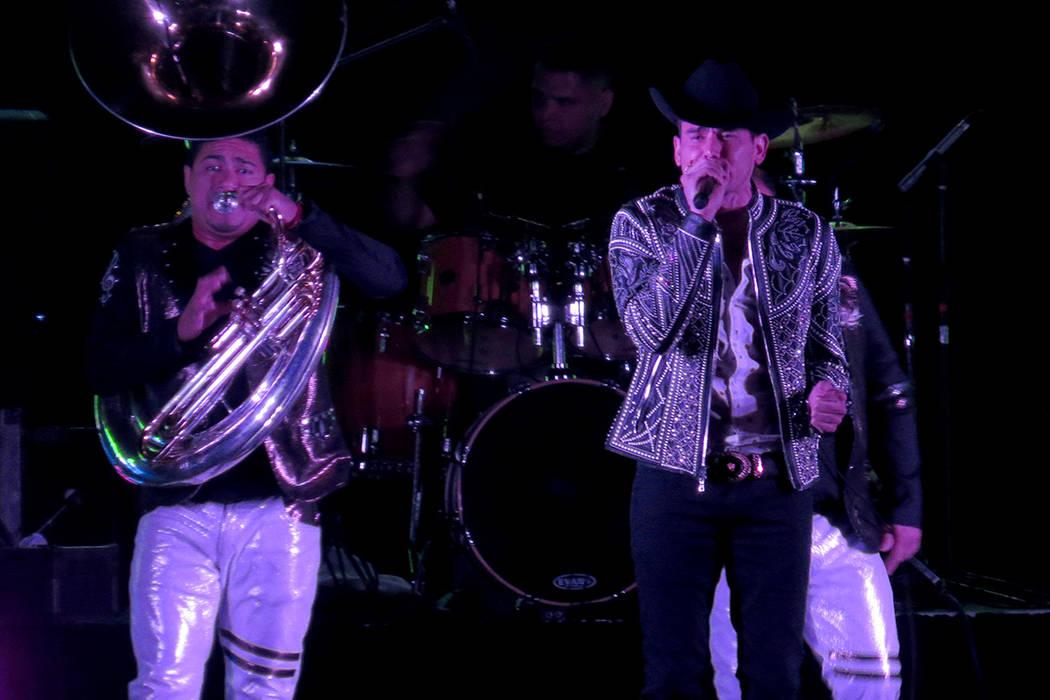 Kanales aprovechó cada oportunidad para agradecer el apoyo de su público a lo largo de su carrera. Viernes 21 de julio en el Orleans Arena. | Foto Anthony Avellaneda/El Tiempo.