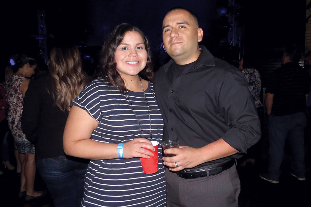 Beto y Karla Salas disfrutaron del romanticismo del grupo Camila. Domingo 30 de julio en House of Blues. | Foto Anthony Avellaneda/ El Tiempo.