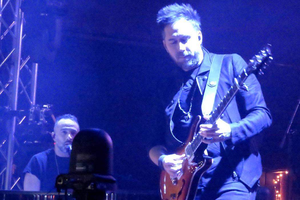 Pablo Hurtado demostró una vez más porqué es uno de los mejores guitarristas latinos. Domingo 30 de julio en House of Blues. | Foto Anthony Avellaneda/ El Tiempo.