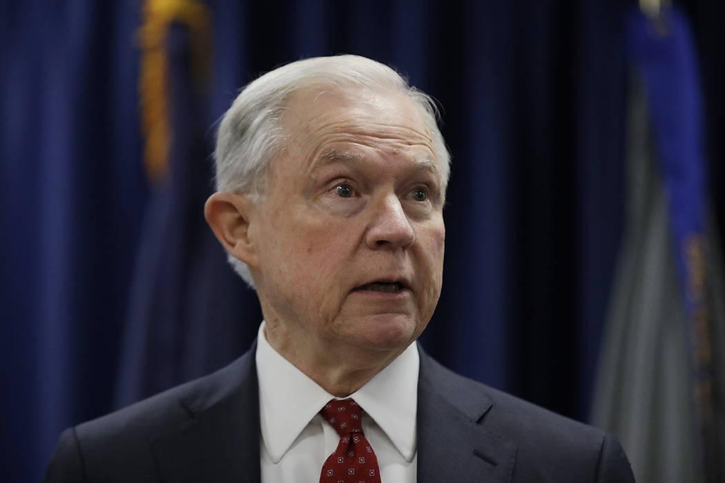 El secretario de Justicia de los Estados Unidos, Jeff Sessions, habló en la Oficina del Procurador de los Estados Unidos en Filadelfia, el viernes 21 de julio de 2017. Recientemente, las sesiones ...