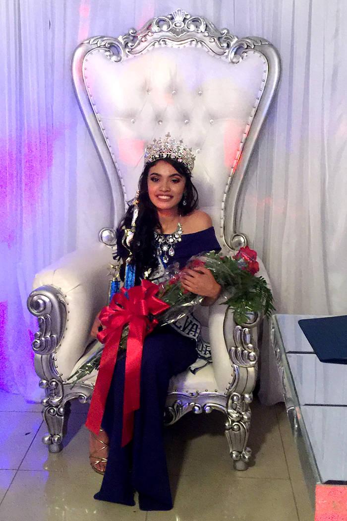 La ganadora fue Erica Bonilla, de 17 años de edad y representante del departamento de Cabañas. | Foto Cortesía Claudia Navarro.