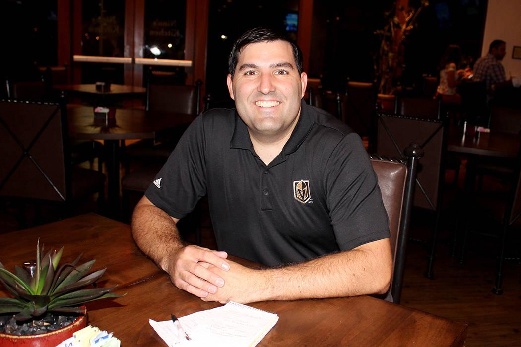 Tim Mullin, director de acuerdos estratégicos de la fundación Golden Knights, dijo que están sumando más organizaciones para ayudarles. Viernes 18 de agosto en el campo de golf Angel Park. Vie ...