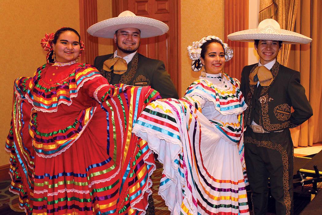 Ballets folklóricos locales tendrán su oportunidad en el escenario. Martes 15 de agosto en el casino Texas Station. | Foto Cristian De la Rosa/ El Tiempo.