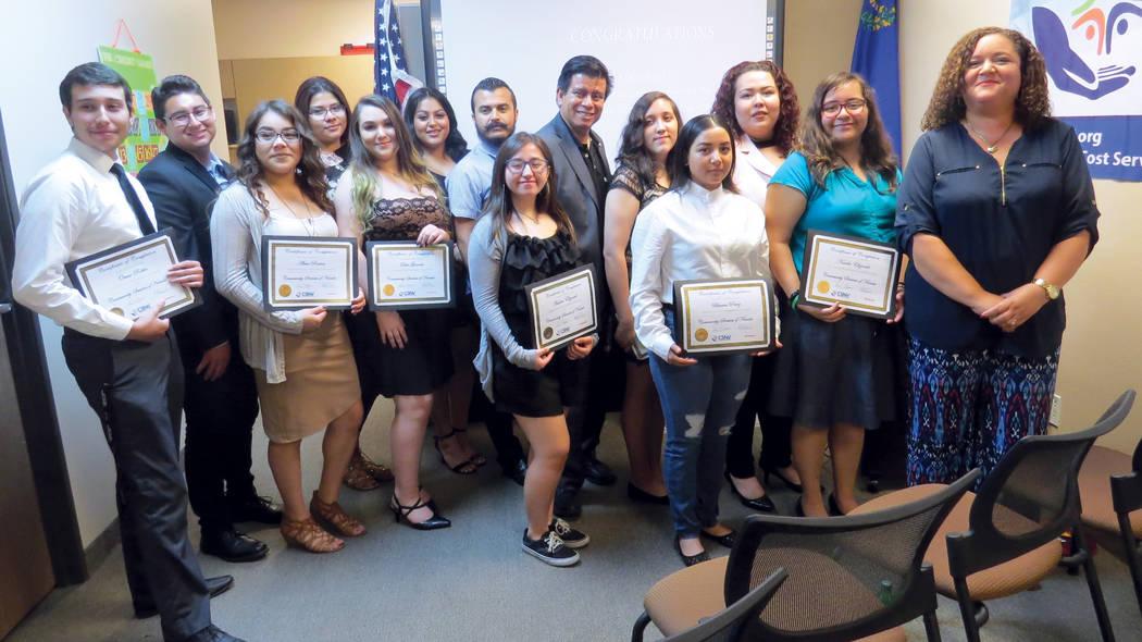 Los estudiantes graduados se mostraron felices por completar satisfactoriamente el programa. Jueves 17 de agosto en CSNV. | Foto Anthony Avellaneda/ El Tiempo.