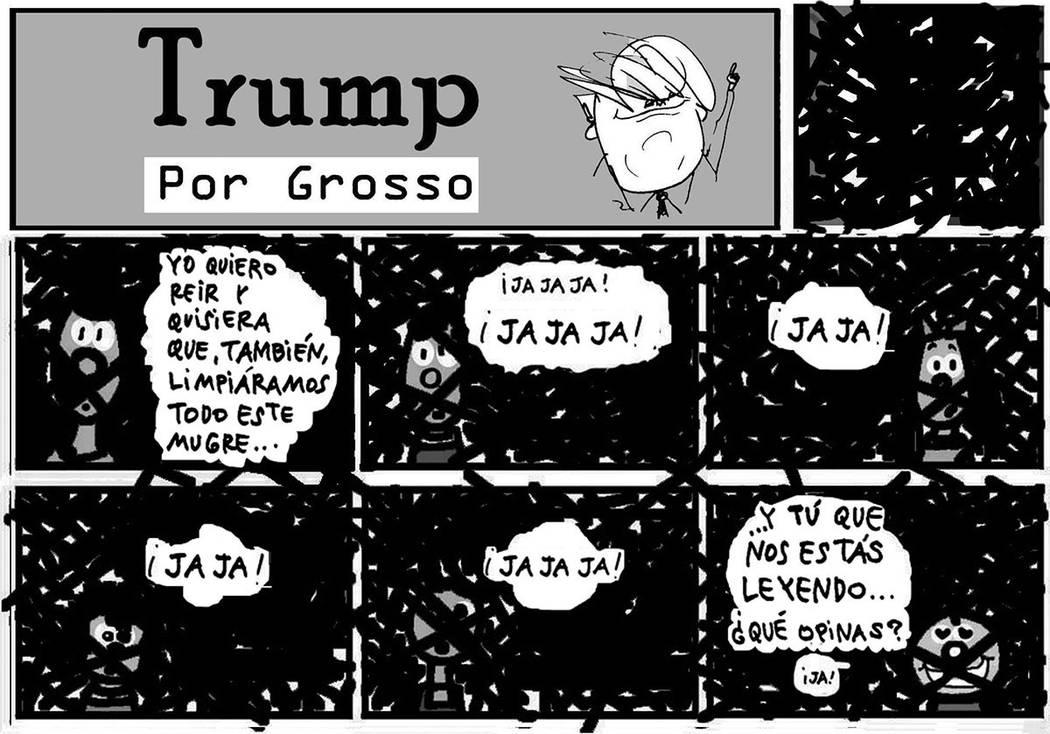TRUMP. | Ilustración por Grosso/ Especial para El Tiempo.