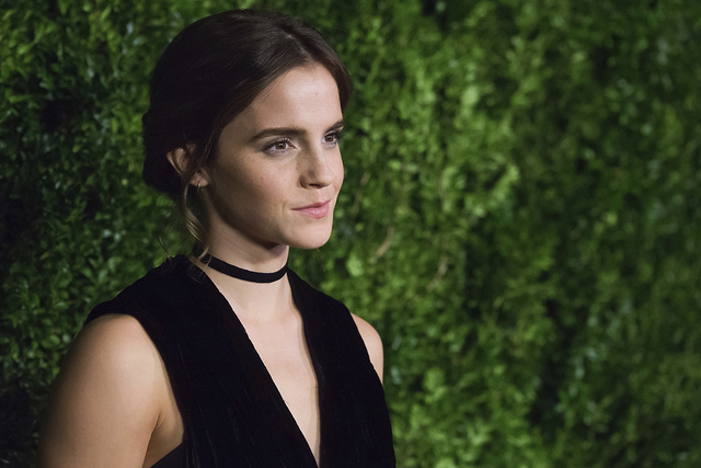 Emma Watson. (Photo by Charles Sykes/Invision/AP)