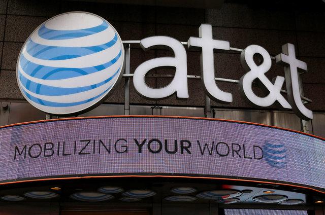Una tienda de AT&T luce su marca en New York, en octubre 29 del 2014. (Foto Archivo Shannon Stapleton/Reuters).