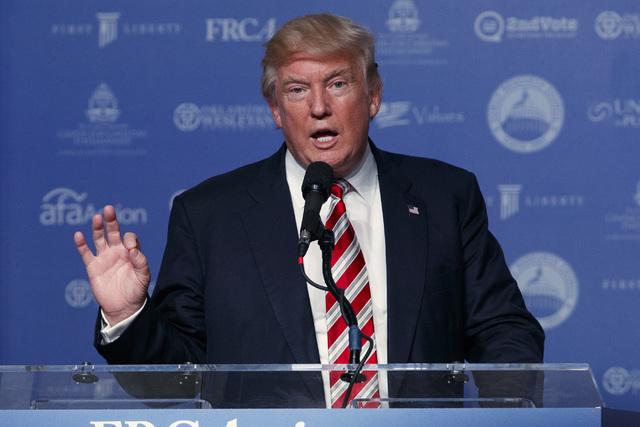 El aspirante republicano a la Casa Blanca, Donald Trump, dio a conocer el estado de su salud. (Foto archivo AP/Evan Vucci).