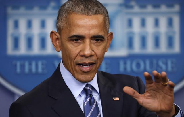 En esta foto de archivo el Presidente Barack Obama habla en conferencia de prensa en la Casa Blanca el 16 de diciembre del 2016, en Washington. El presidente Obama dio a conocer el 29 de diciembre ...