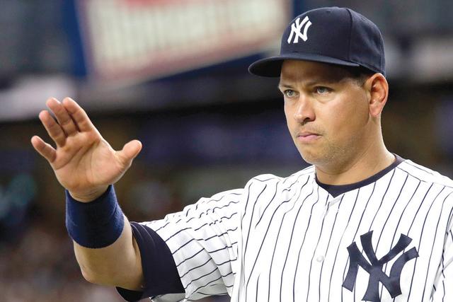Alex Rodriguez de los Yankees de Nueva York.  (AP Photo/Adam Hunger)