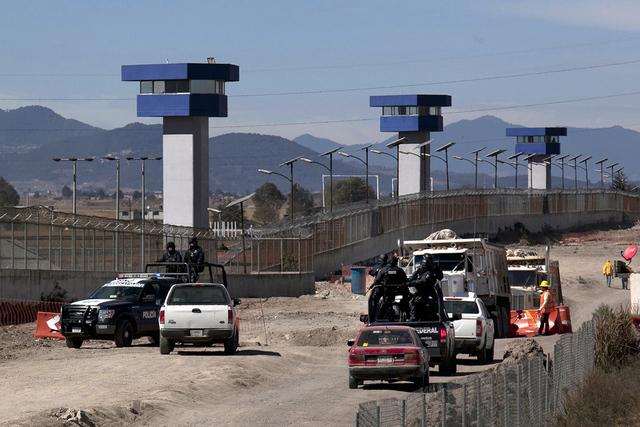 El Altiplano prisión de máxima seguridad Almoloya. | AP Photo/Marco Ugarte.