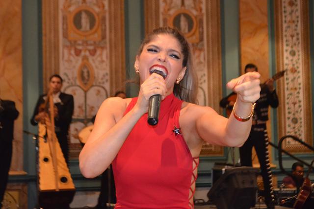 La belleza de la cantante mexicana Ana Barbará. Foto/El Tiempo