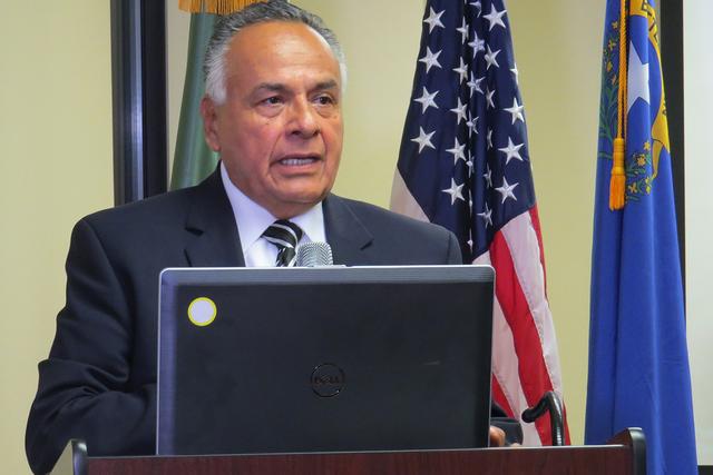 """""""Si nos publicitamos adecuadamente, seguramente más pronto va a conocer la gente lo que estamos haciendo"""": Antonio García, presidente de la Cámara de Comercio Estados Unidos-México. Foto:  ..."""