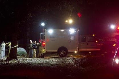 La Oficina de Investigaciones de Georgia respondió a un tiroteo involucrando a oficiales que ejecutaban ona orden de cateo en una vivienda en el condado Crawford, Georgia, el lunes 12 de diciembr ...