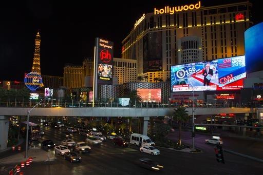 Las Vegas se ubica como destino turístico número uno para este fin de semana de Acción de Gracias del 2016. (Foto Archivo/AP /Chase Stevens).