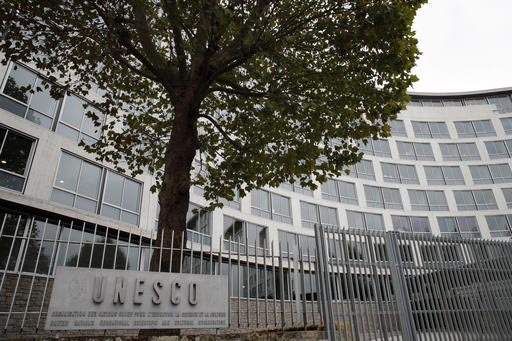 Estas son las oficinas centrales de la UNESCO (en inglés United Nations Educational, Scientific and Cultural Organization) en Paris, Francia. Esta agencia de la ONU niega las profundas raíces hi ...