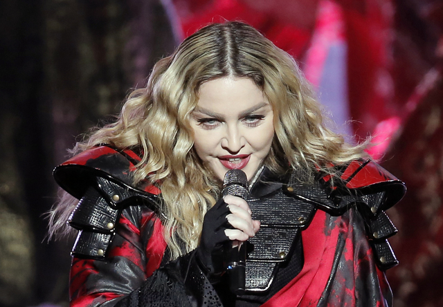 Madonna, en los Billboard Music Awards. (Kin Cheung/AP).