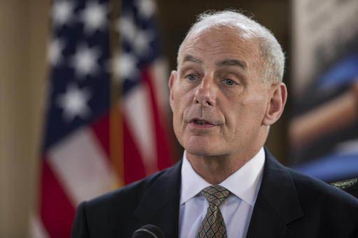John F. Kelly, Secretario de Seguridad Interior de los Estados Unidos. (AP Photo/Moises Castillo).