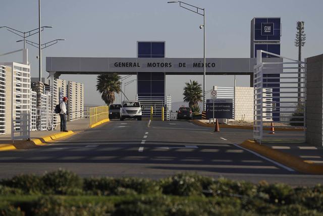 Esta es la planta de General Motors, en Villa de Reyes, San Luis Potosi, Mexico, el 4 de enero del 2017, donde desde el 2008 se producen los vehículos Aveo y Trax. El presidente electo Donald Tru ...