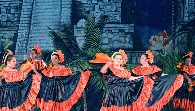 Ballet Folkloric Itzel. Foto El Tiempo.