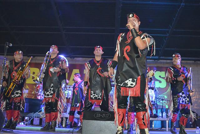La Banda Cuisillos, se presentó con éxito en Las Vegas, el viernes 12 de agosto en el Broadacres Marketplace. Foto El Tiempo