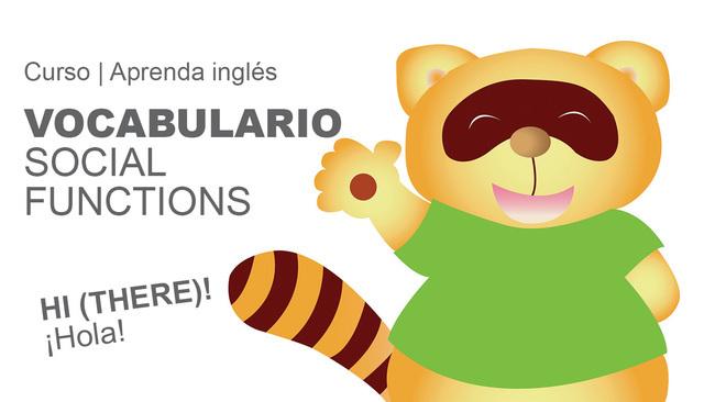 Lección # 75 VOCABULARIO CORTESÍA / SOCIAL FUNCTIONS
