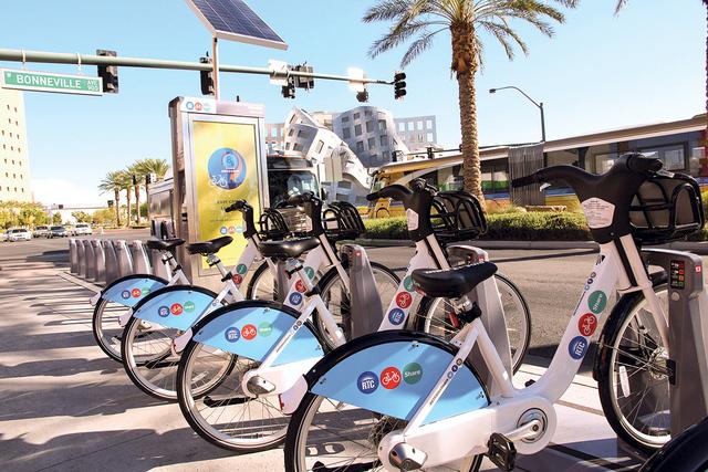 Bike Share es una alternativa de transporte para habitantes y turistas, la cual es económica y contribuye a la actividad física de los usuarios.   Foto Cortesía Bike Share.