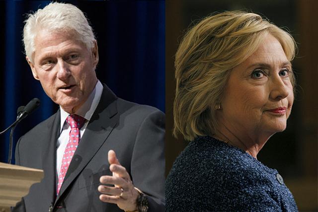 El ex presidente Bill Clinton y su esposa Hillary Clinton, aspirante a la Casa Blanca. (Fotos Archivo / Las Vegas Review-Journal and Reuters).