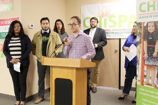 El director de CHISPA, Rudy Zamora, reveló que 4 de cada 10 niños tiene asma en Las Vegas. Foto El Tiempo