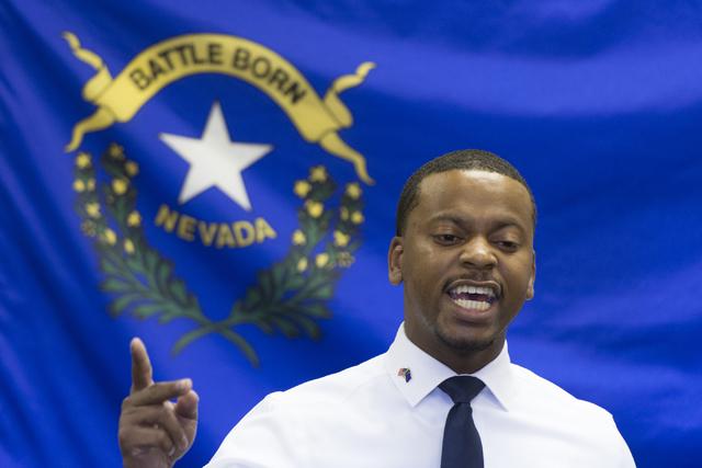 William McCurdy II, asambleísta estatal por el Distrito 6, fue elegido presidente del Partido Demócrata de Nevada el 4 de marzo del 2017. (Foto Archivo/Jason Ogulnik/Las Vegas Review-Journal ).