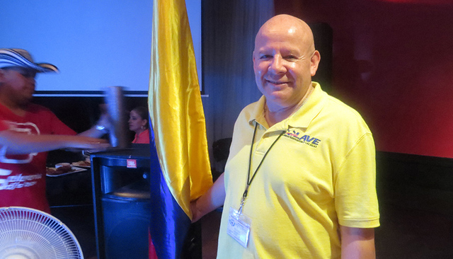 """""""Colombia es caracterizada por el baile y la comida, entonces en esta ocasión buscamos eso y obtener fondos para nuestra fundación y los programas sociales que tenemos"""": José Tarazona, pres ..."""