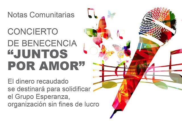 """Concierto de beneficencia """"Juntos por Amor"""""""