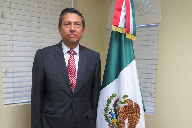 Alejandro Madrigal Cónsul General de México en Nevada. | Foto El Tiempo