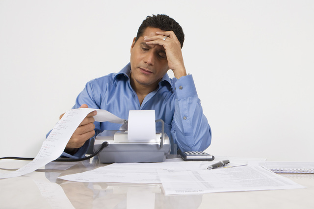 A veces, las deudas pueden dañar su historial de crédito.