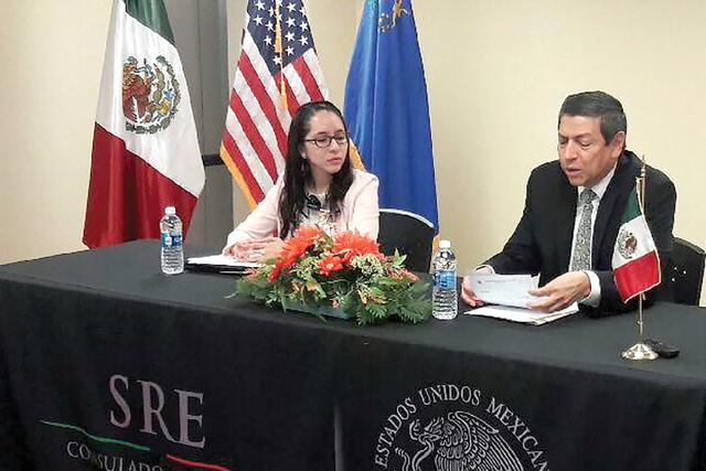 El cónsul Alejandro Madrigal inauguró la Semana de Derechos Laborales en compañía de todos los profesionales que se han sumado a participar en esta actividad informativa. Lunes 28 de agosto en ...