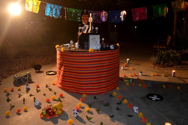 La Federación Jalisciense participo con su altar tradicional en pasado fin de semana. Foto El Tiempo
