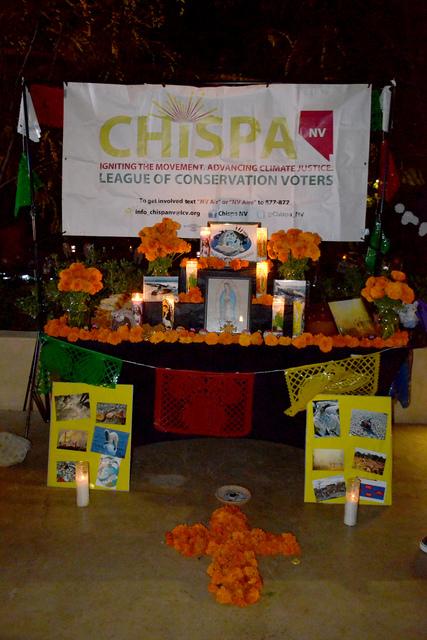 La organización Chispa dedico el altar # 6 y 7 a la conservación del medio ambiente. Foto El Tiempo
