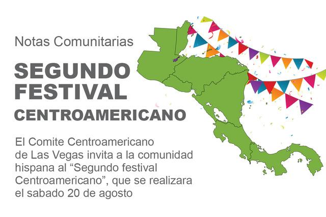 Segundo festival centroamericano.