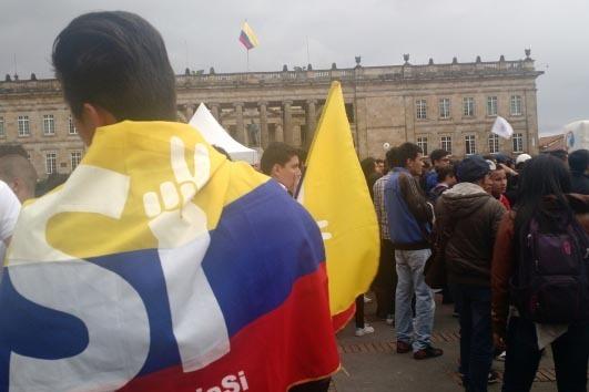 El Acuerdo Final de Paz en Colombia se encuentra en la fase de consulta al pueblo mediante referéndum. (Foto Notimex).