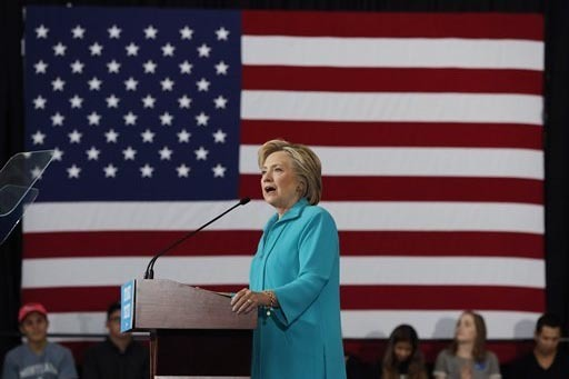 La candidata presidencial demócrata, Hillary Clinton, visitará el Memorial del 9/11 en Nueva York. (Foto archivo AP Photo/Carolyn Kaster).