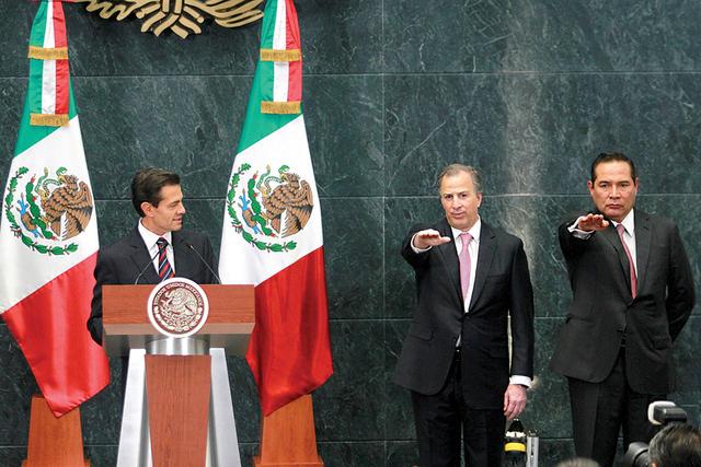 El presidente Enrique Peña Nieto anunció que aceptó la renuncia de Luis Videgaray Caso al frente de la Secretaría de Hacienda y Crédito Público (SHCP), y en su lugar nombró a José Antonio  ...