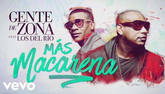 """Gente De Zona y Los Del Rio presentaron su nuevo sencillo """"Más Macarena"""""""