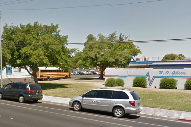 Gibson Middle School (Google Street View).