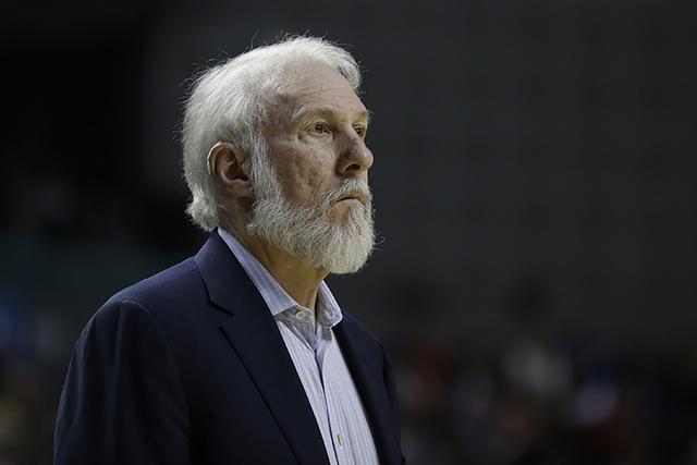 Gregg Popovich. (AP Photo/Rebecca Blackwell)