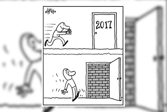Año nuevo con las mismas. | Ilustración por Grosso/Especial para El Tiempo