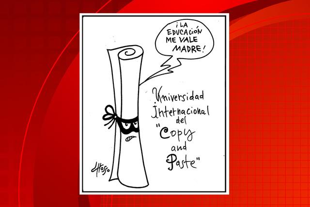 Grosso (Presidente in fragrant).   Ilustración especial para El Tiempo