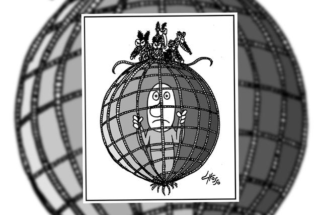 Un mundo de  corrupción. | Ilustración por Grosso/ Especial para El Tiempo