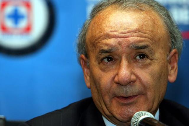 Guillermo Álvarez Cuevas, Presidente del Cruz Azul.   Agencia
