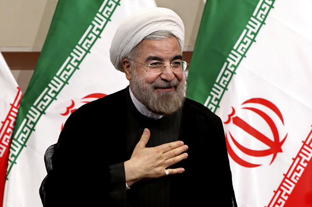 Hasan Rouhani. (AP Photo/Ebrahim Noroozi, File)